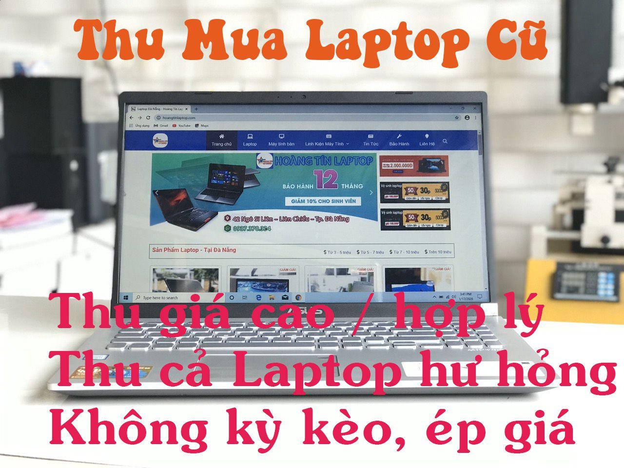 Thu Mua Laptop Cũ Đà Nẵng